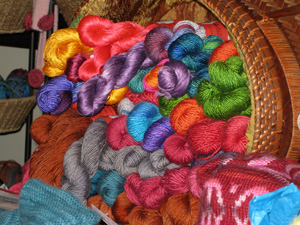Yarn was available from several vendors