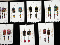 Earrings by Mary Martin