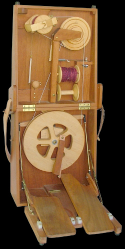 Double Treadle Journey Wheel